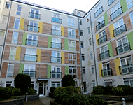 Modern apartment complex near Watford